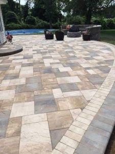uneek patio completed