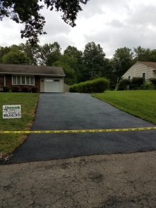 uneek driveway after work completed